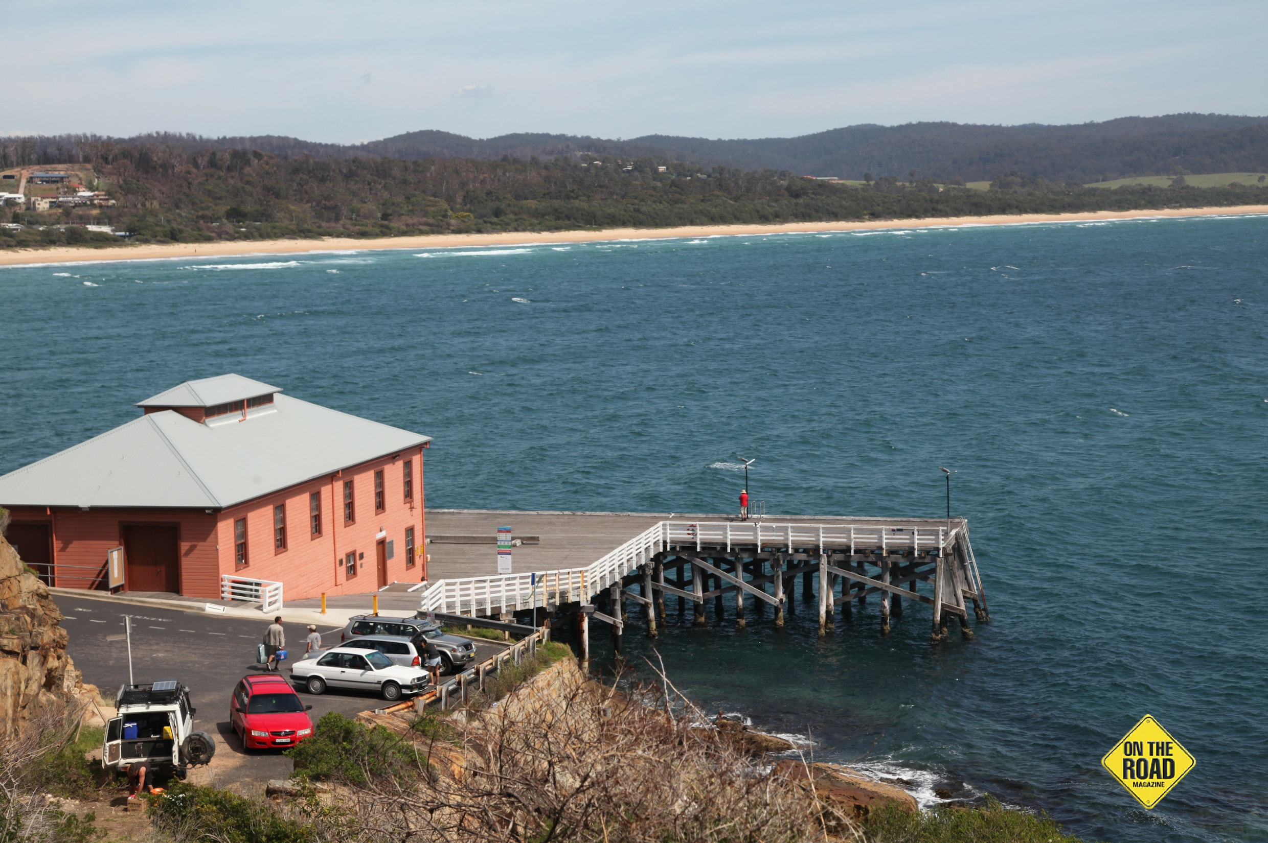 The famous Tathra wharf 150 years plus old and still going strong