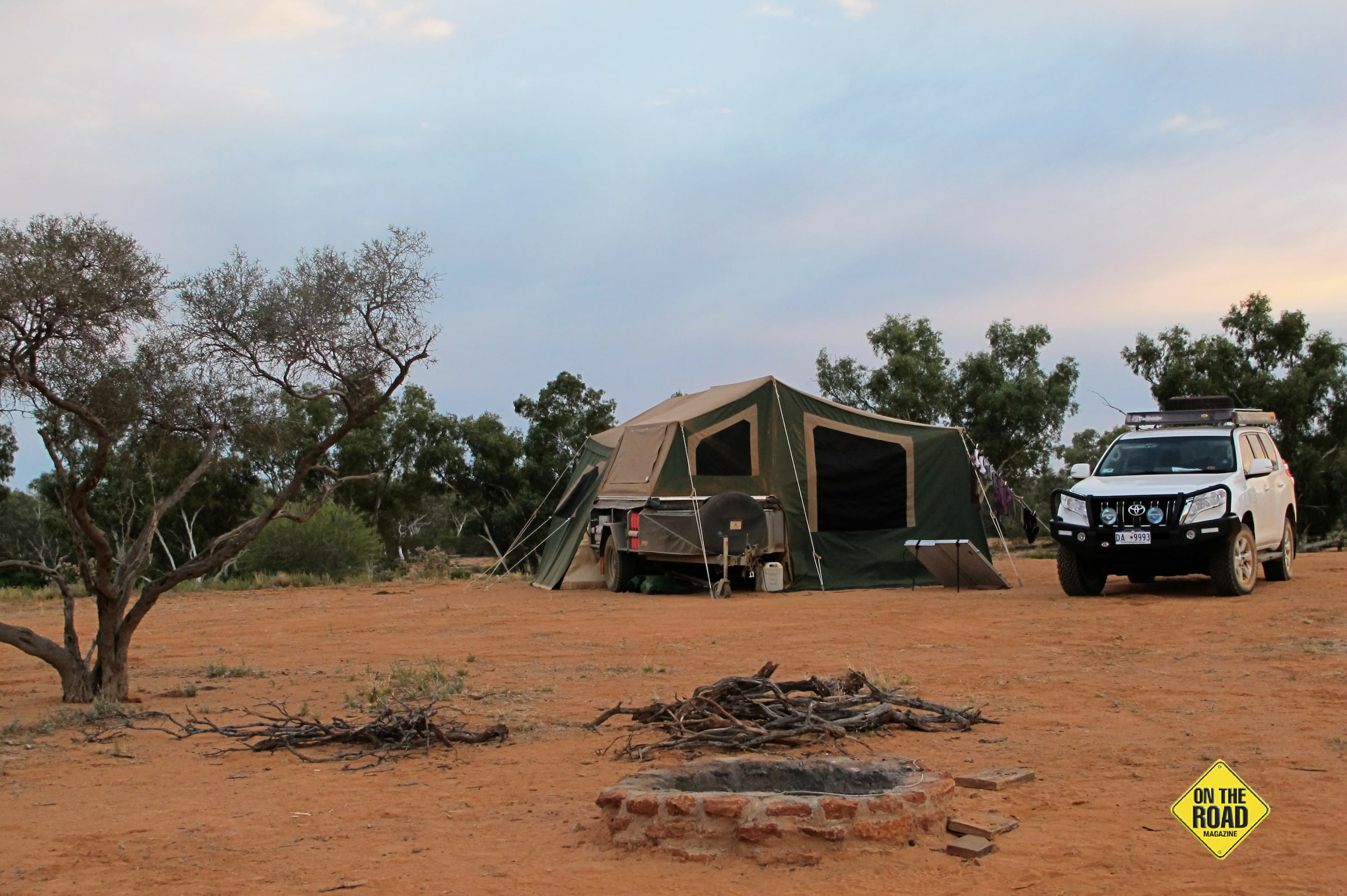 River side camping at Wooleen Station with privacy and space