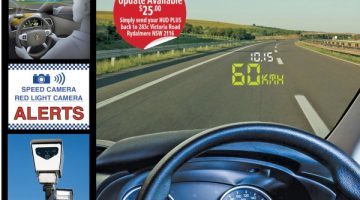 Reduce the risk of speeding fines with the Polaris Head Up Display