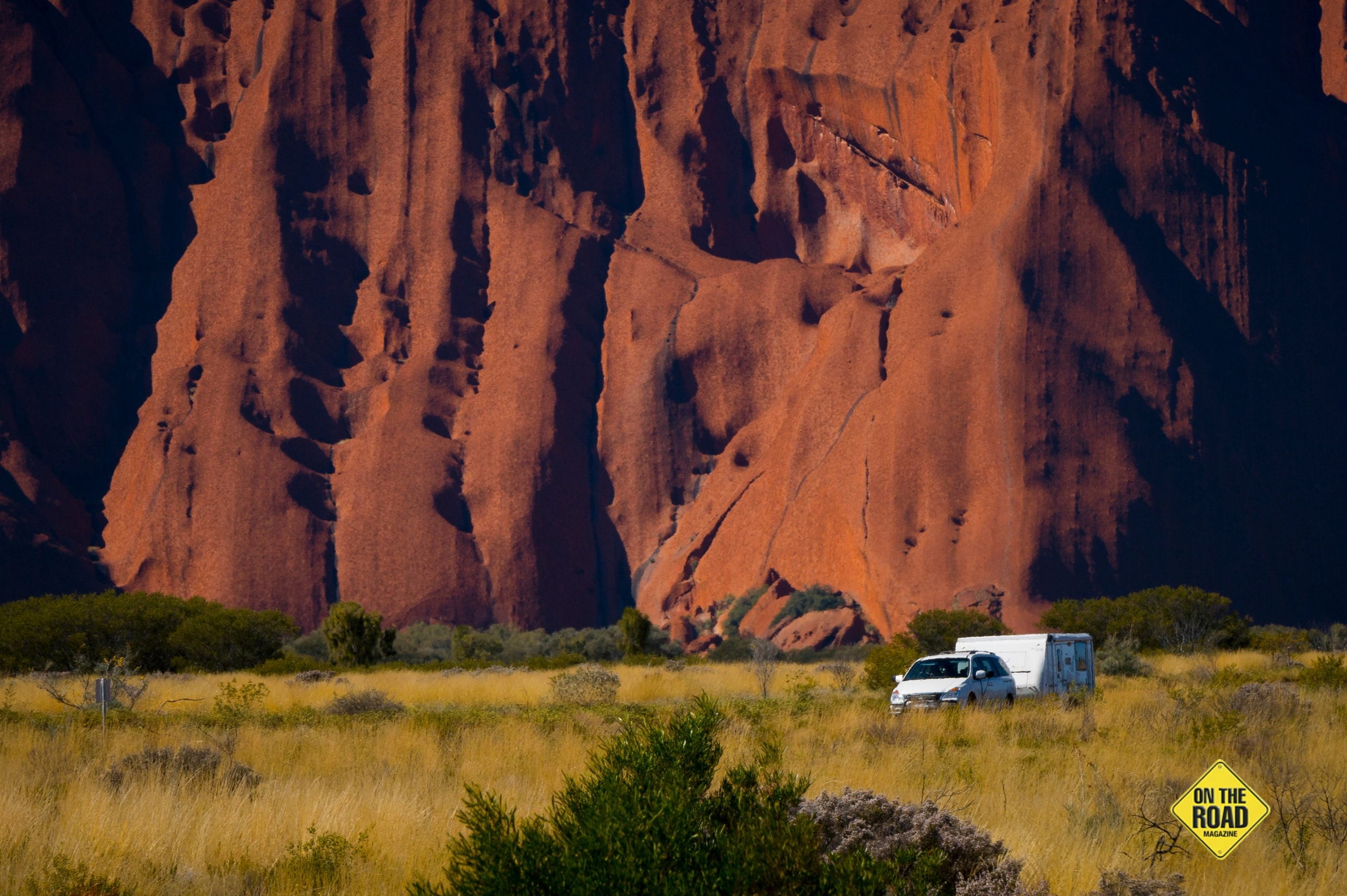 Caravanners and campers end their Red Centre pilgrimage at unmissable Uluru