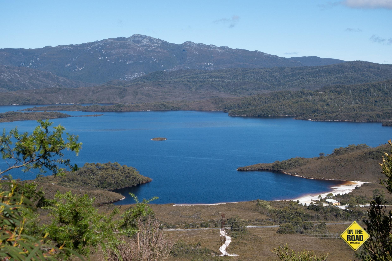 Lake Pedder packs a blue punch