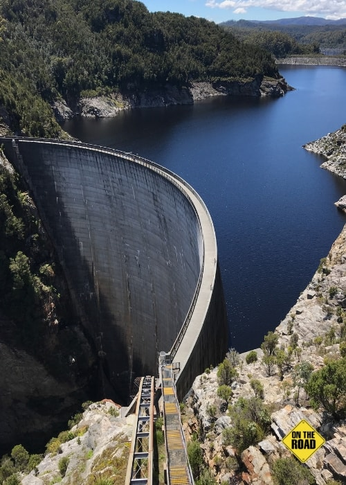 The Gordon Dam in south west Tasmania