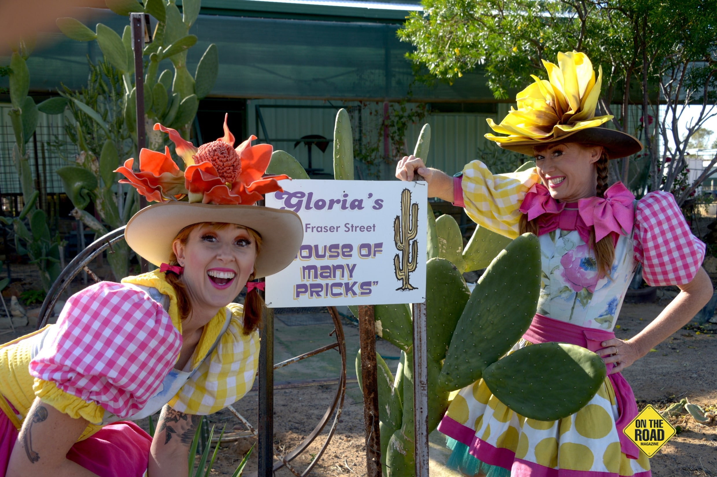 Crack Up Sisters will be live daily at Wintons 2019 Outback Festival
