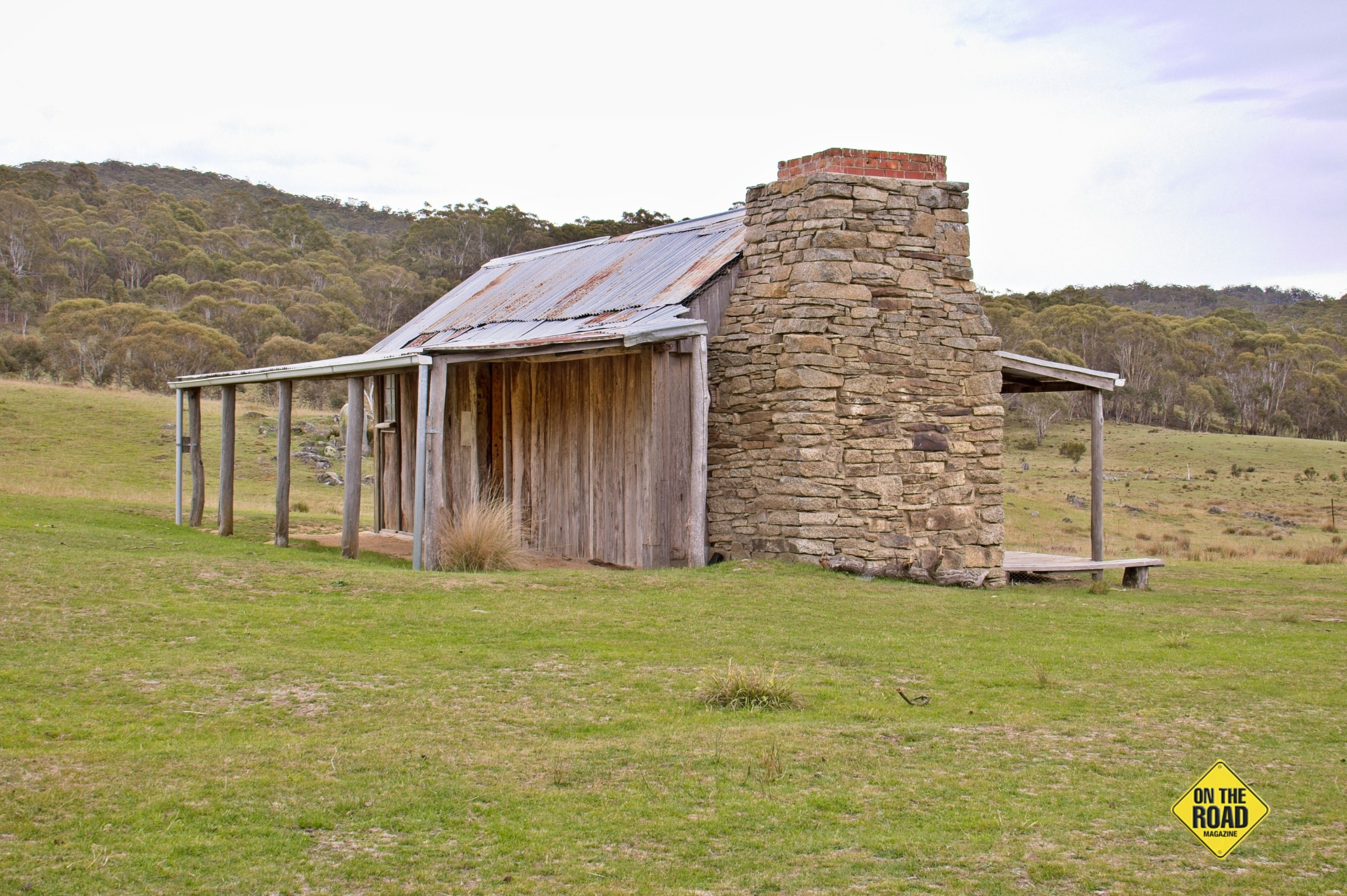Historic Brayshaws Homestead marks the starting point for the Settlers Track Walk.