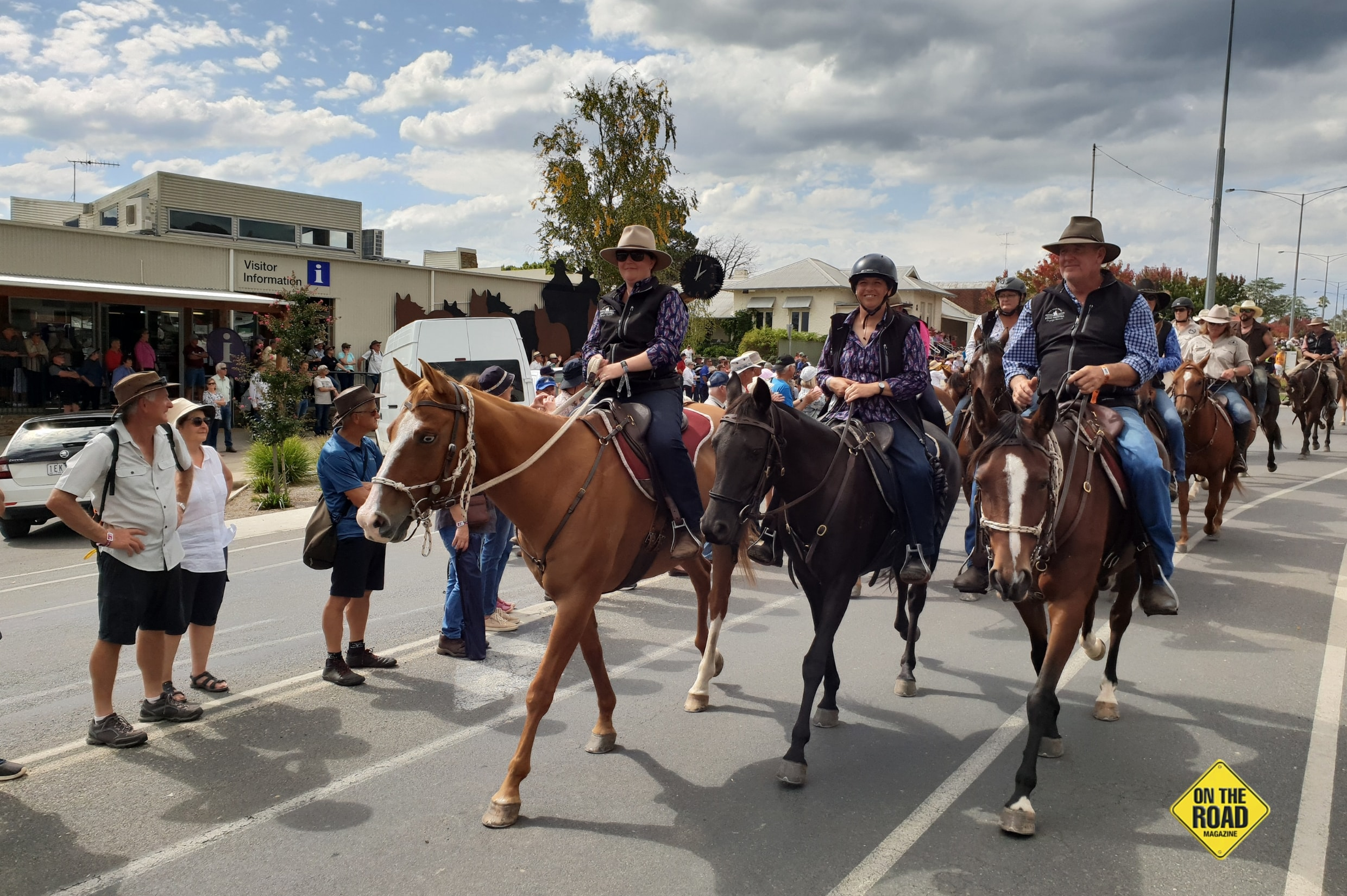 The Man From Snowy River Street Parade