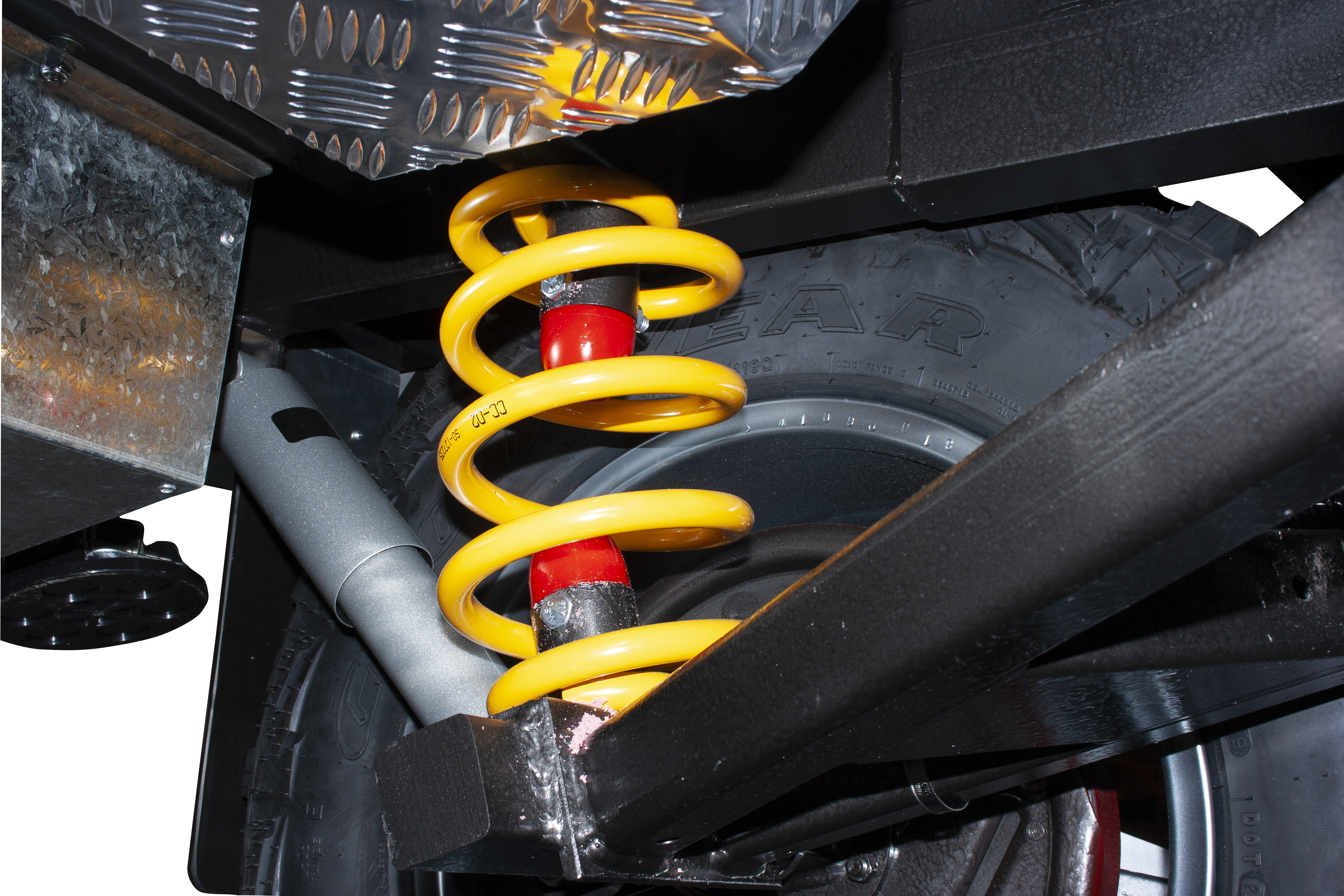 heavyduty coil-spring suspension