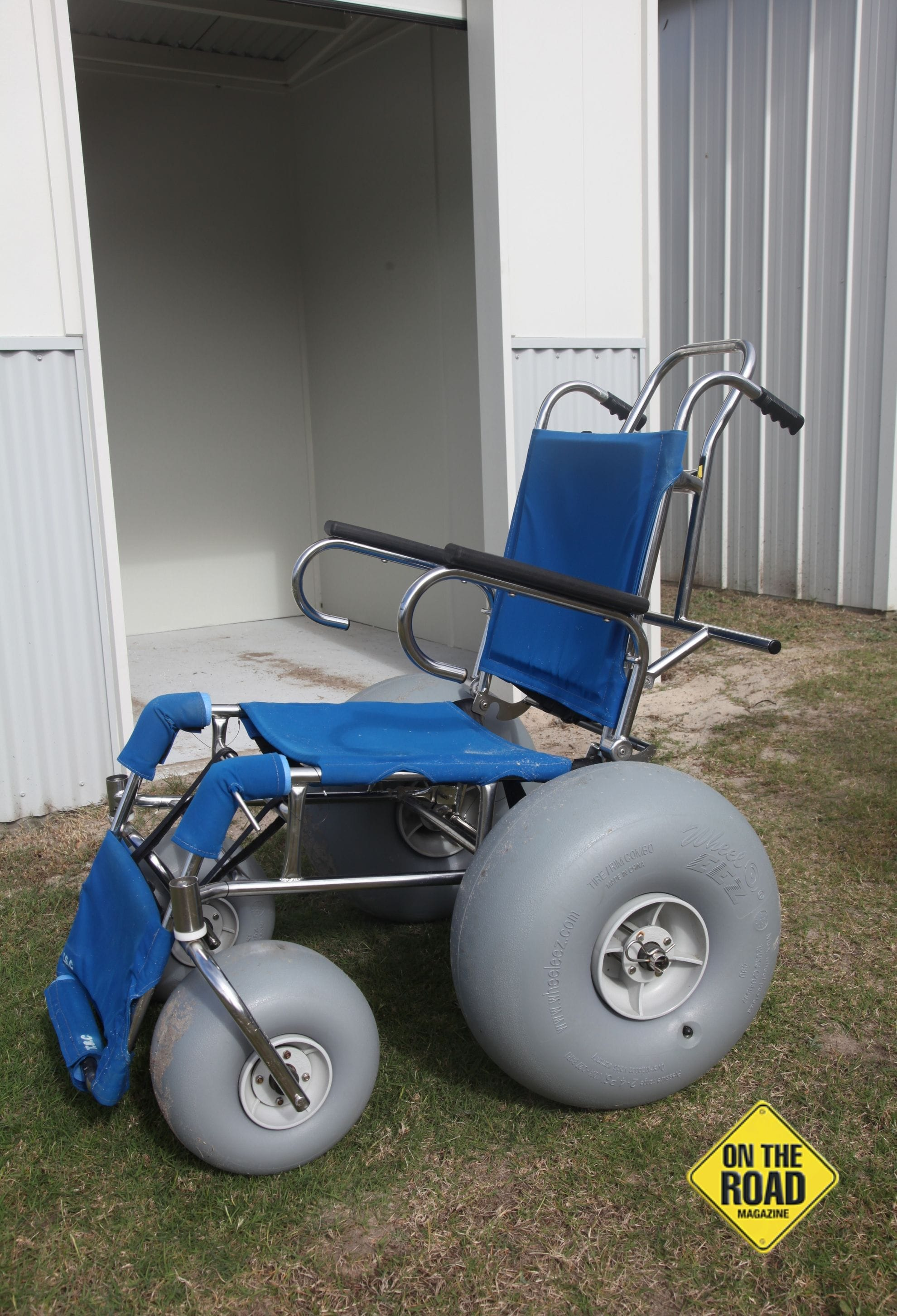 Beach going wheelchairs are available at Pottsville South Holiday