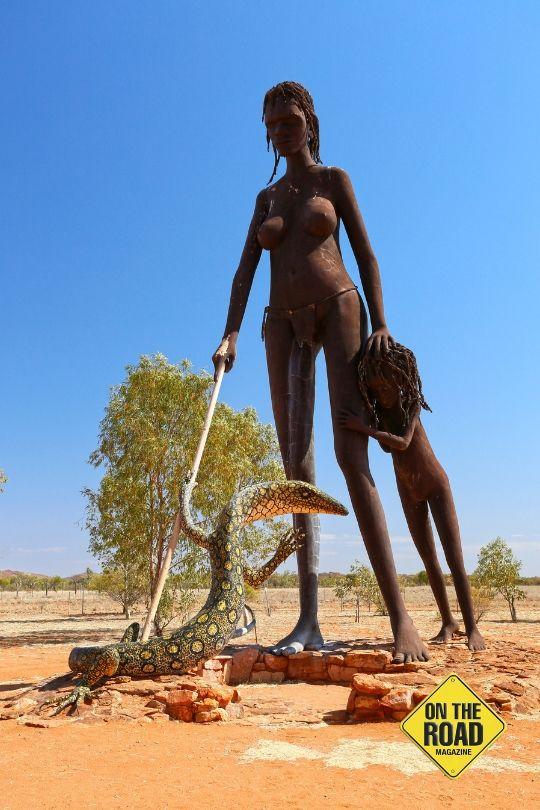 Big sculptures at Aileron