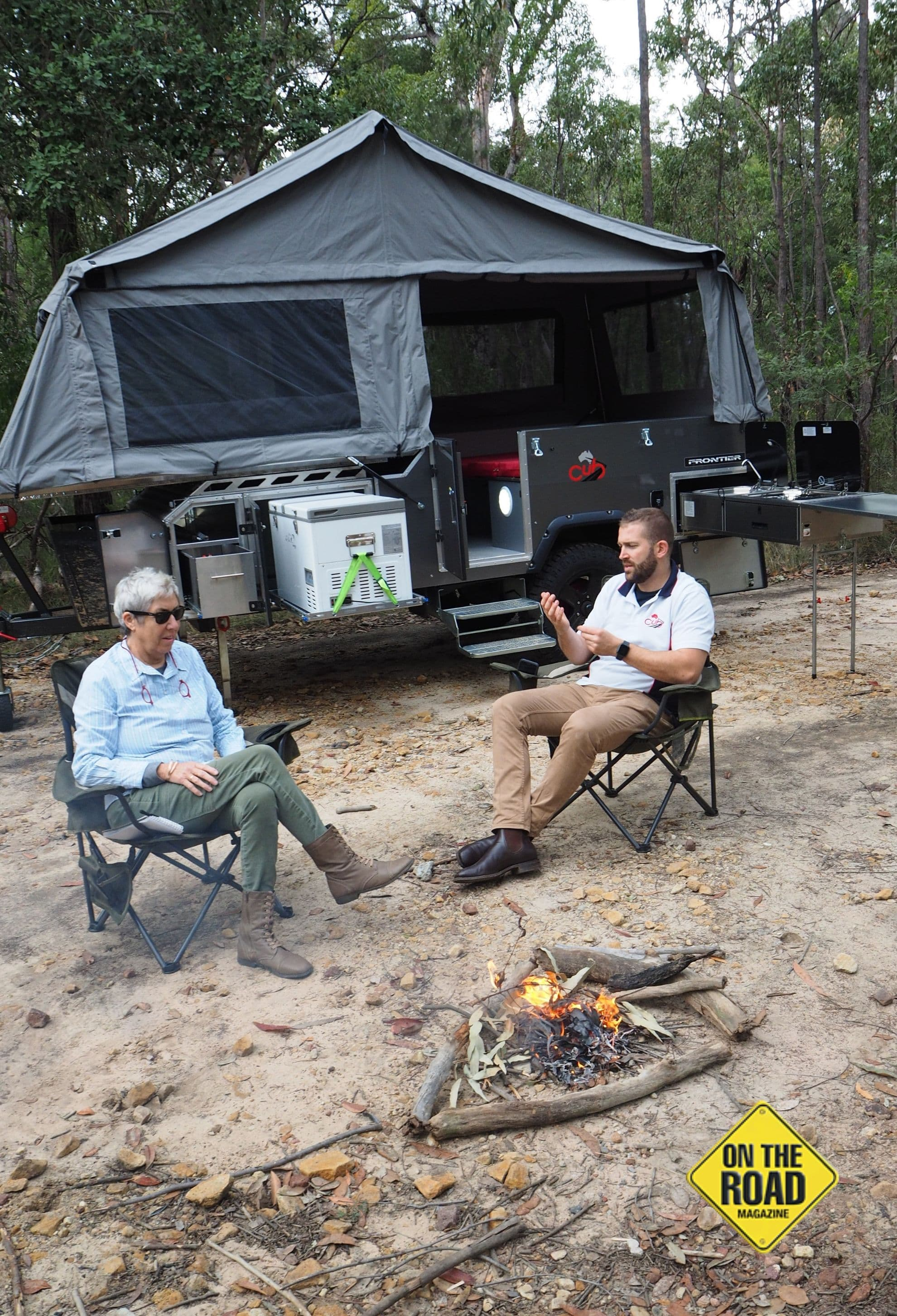 Camping with Cub Frontier