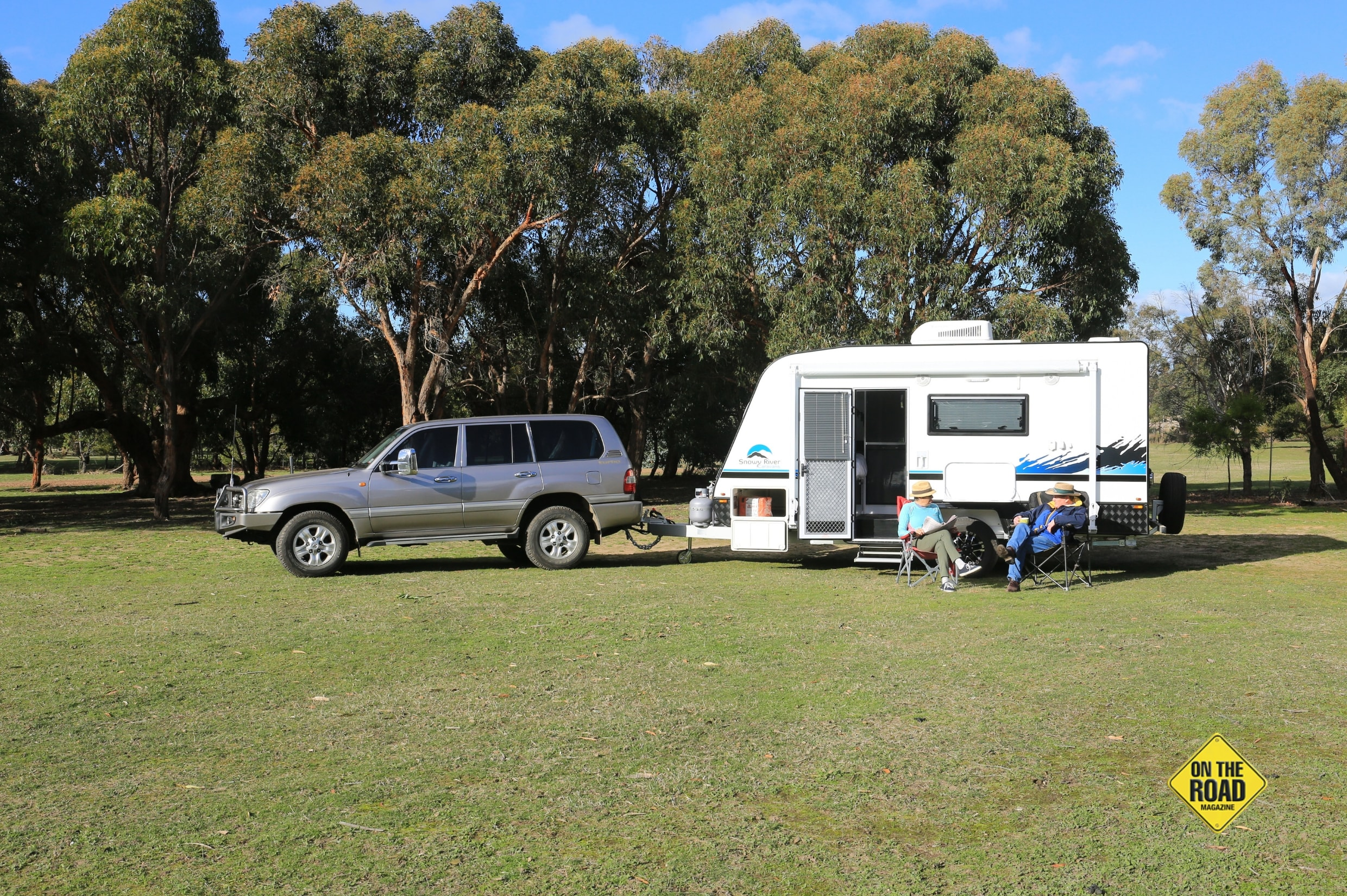 Couples looking for a simple van that's easy to tow and park will love this little van from Snowy River
