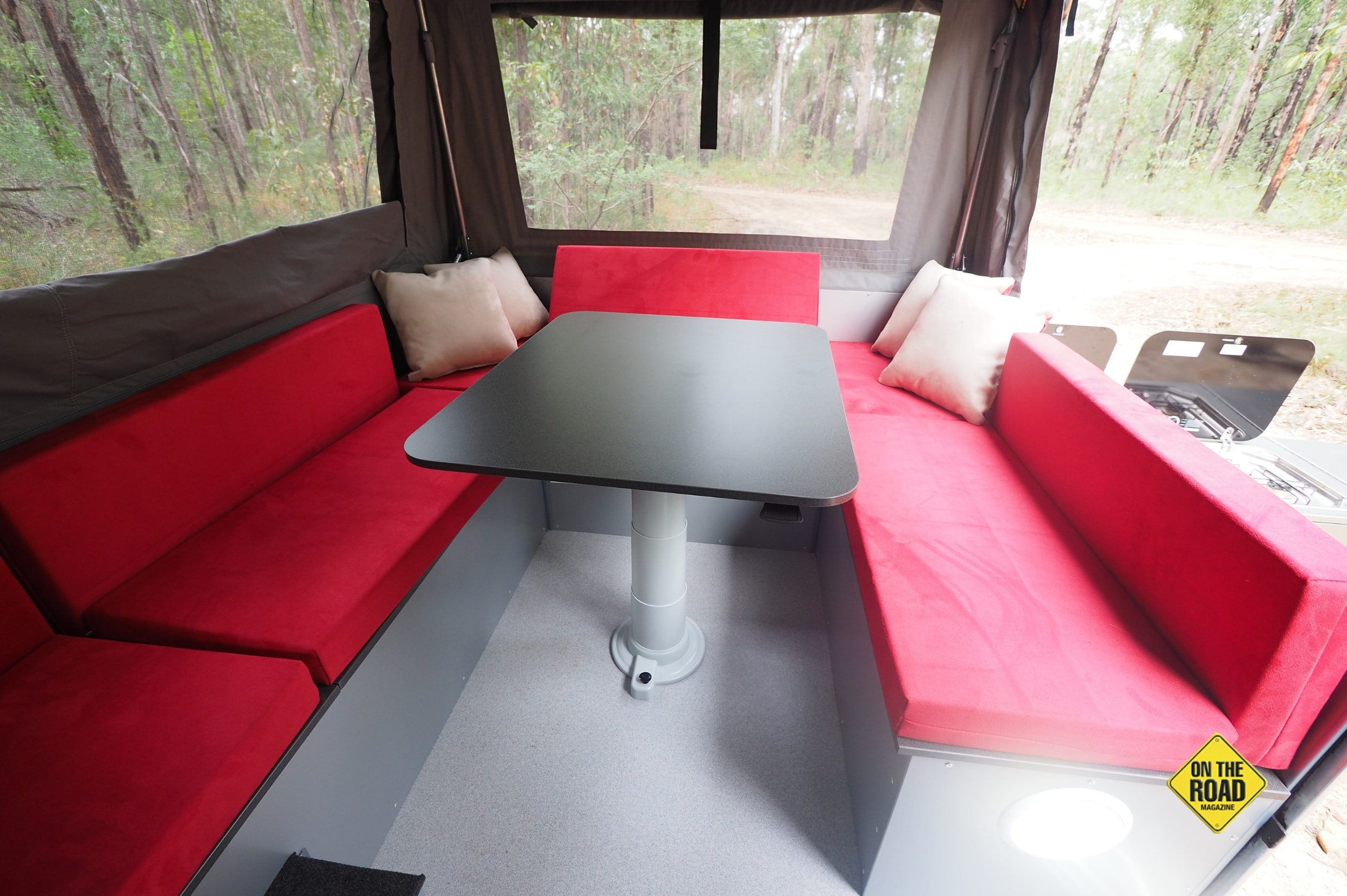 The dinette is very spacious.-min