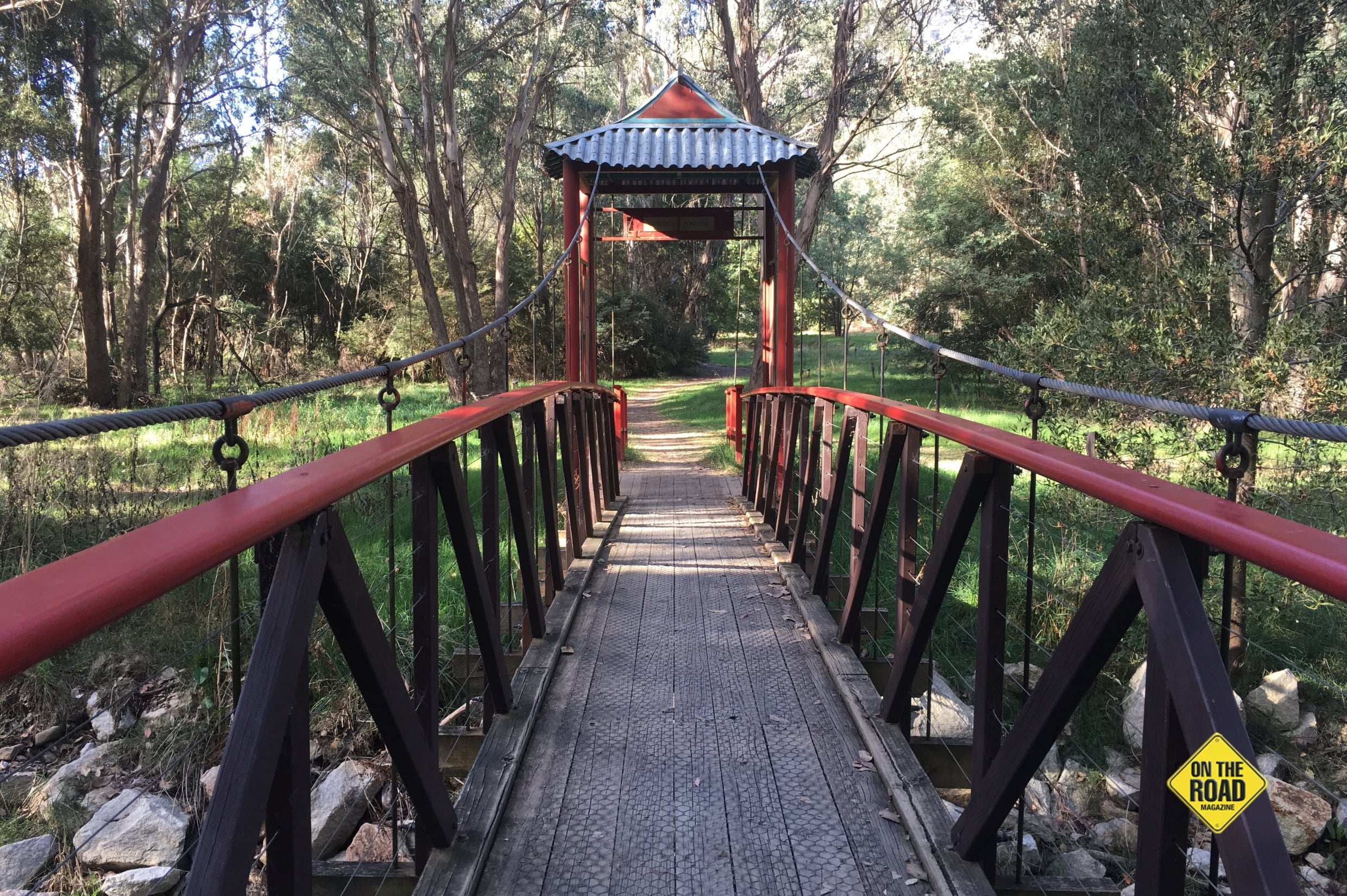 bridge at Mount Buffalo