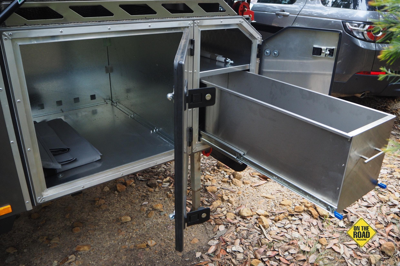sliding kitchen storage