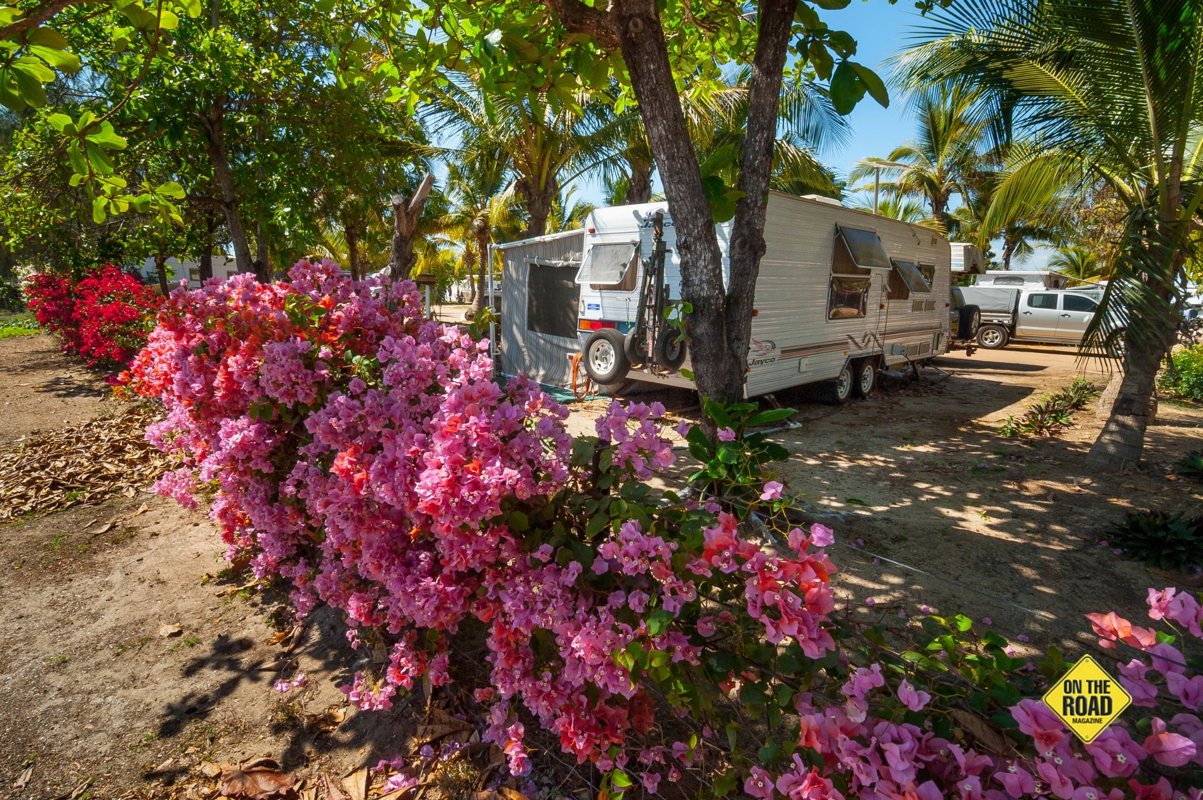 Karumbas five caravan parks fill up fast over the peak winter months.-min