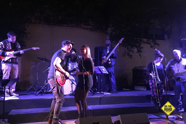 Nardia and band