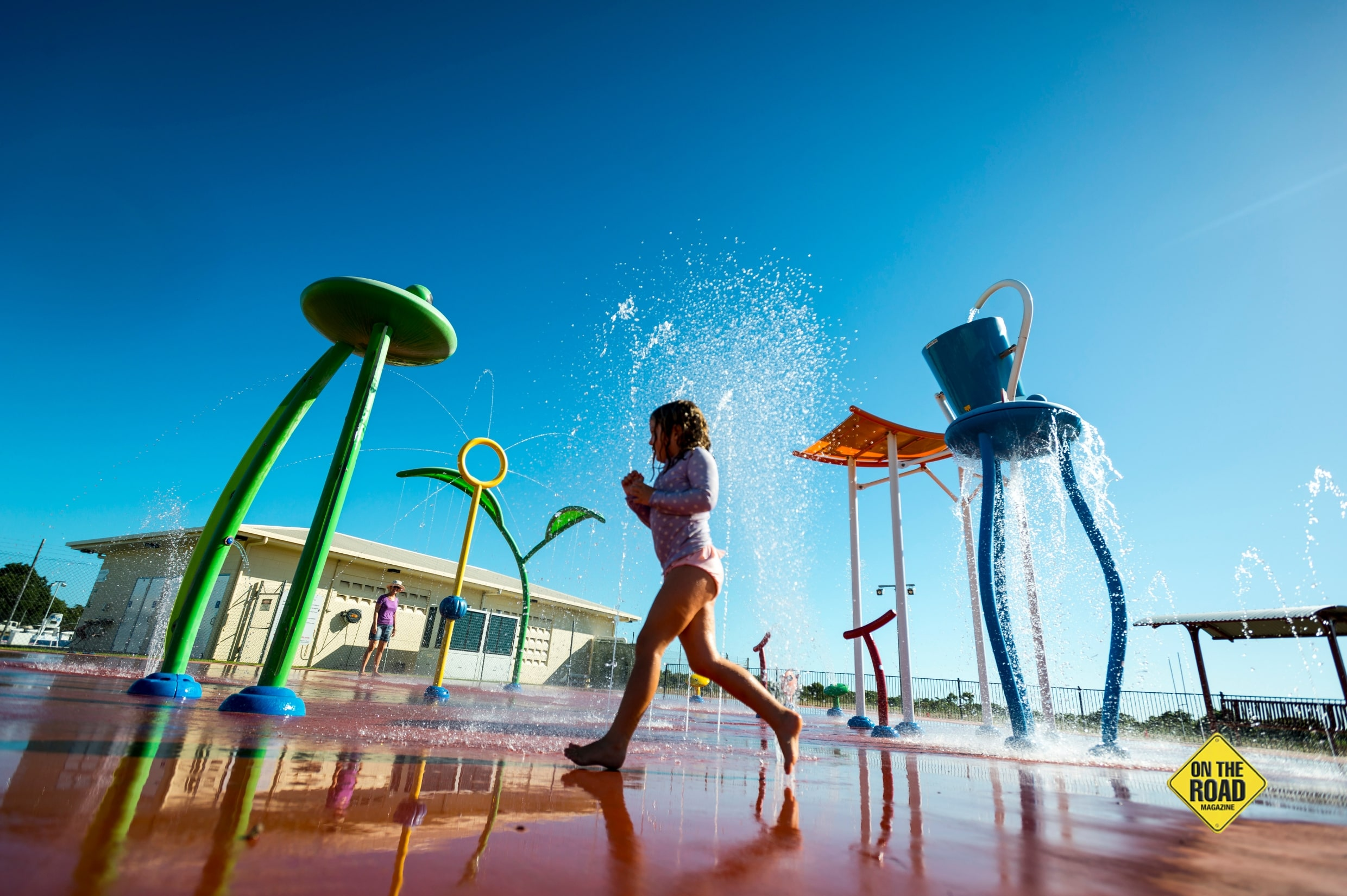 Theres fun for kids at water playparks in Karumba and nearby Normanton-min
