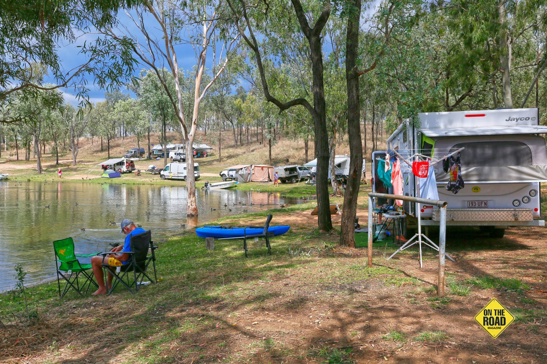Wuruma Dam is a popular free-camping spot near Eidsvold.-min-2