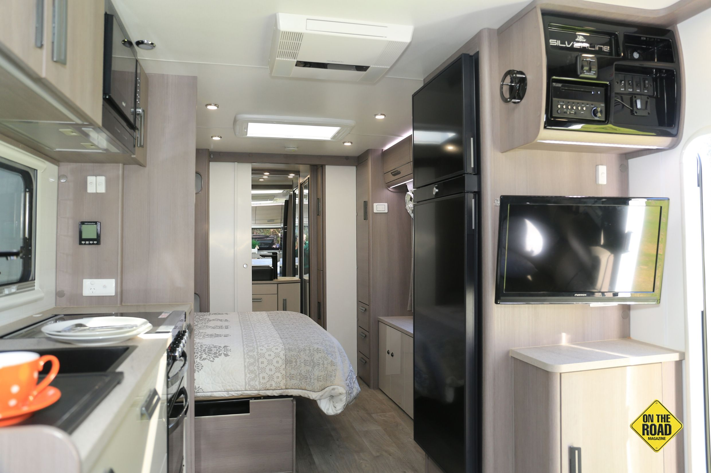 Modern spacious wellfinished the Jayco has everything you could want