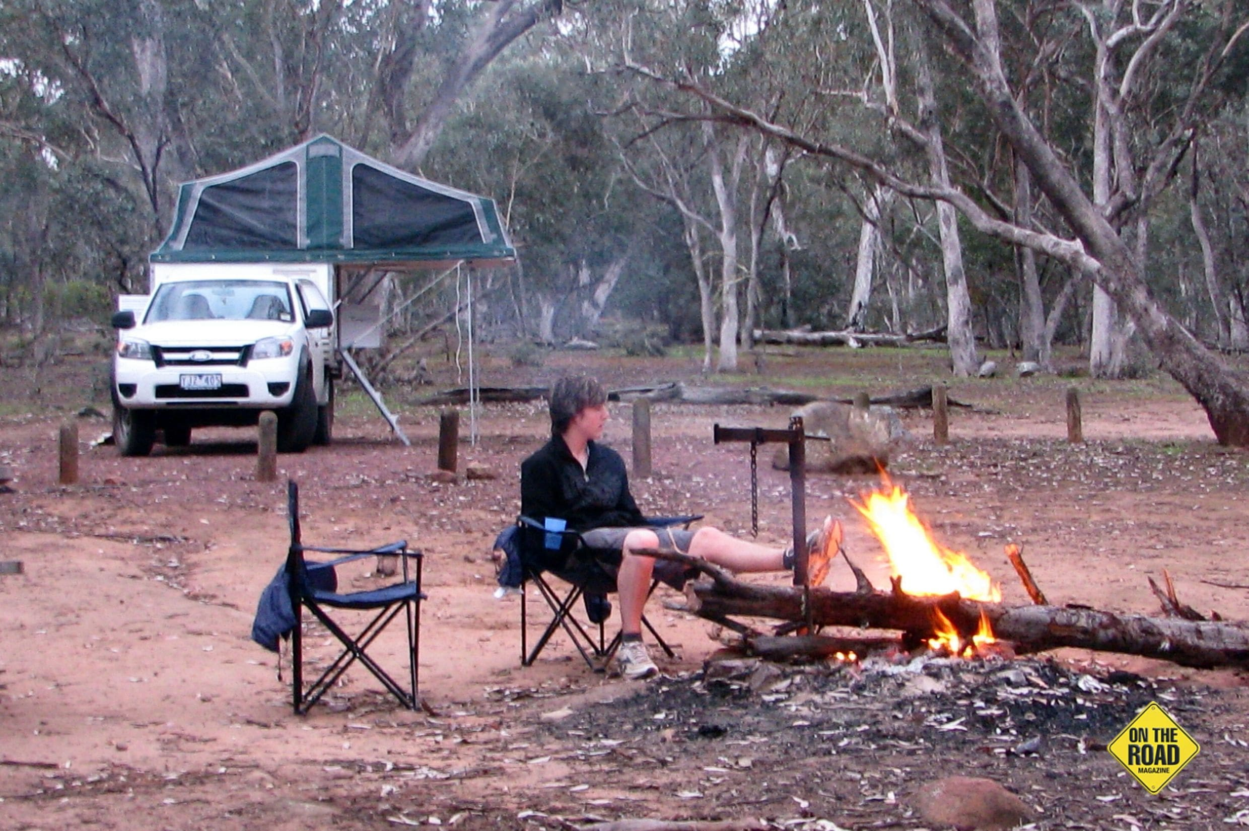 A pleasant campsite at McKillops Bridge