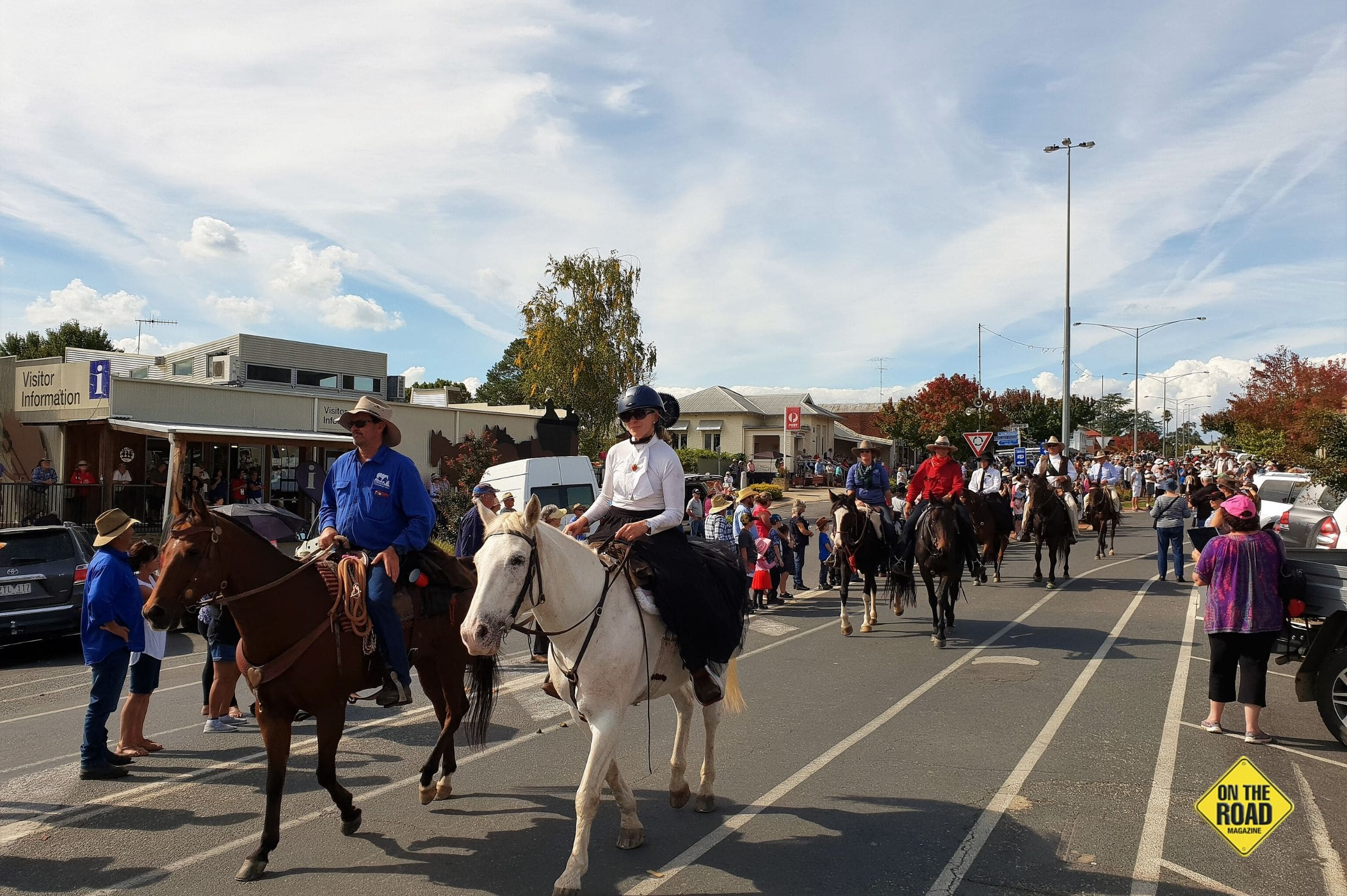 Man From Snowy River Street Parade