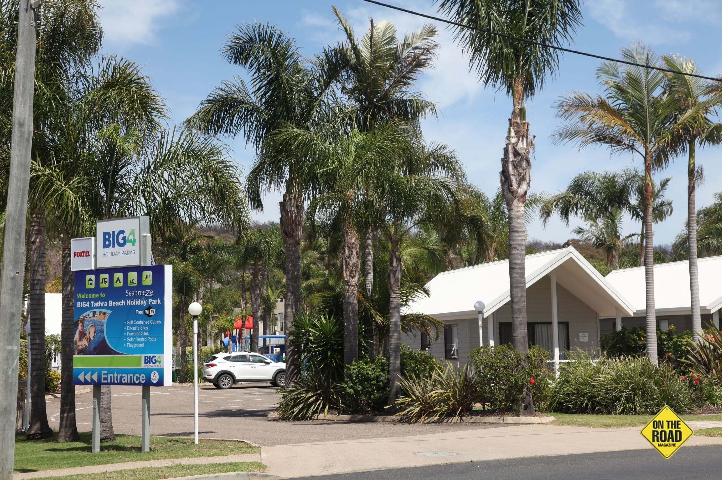 Plenty of top Caravan Parks in town with great locations