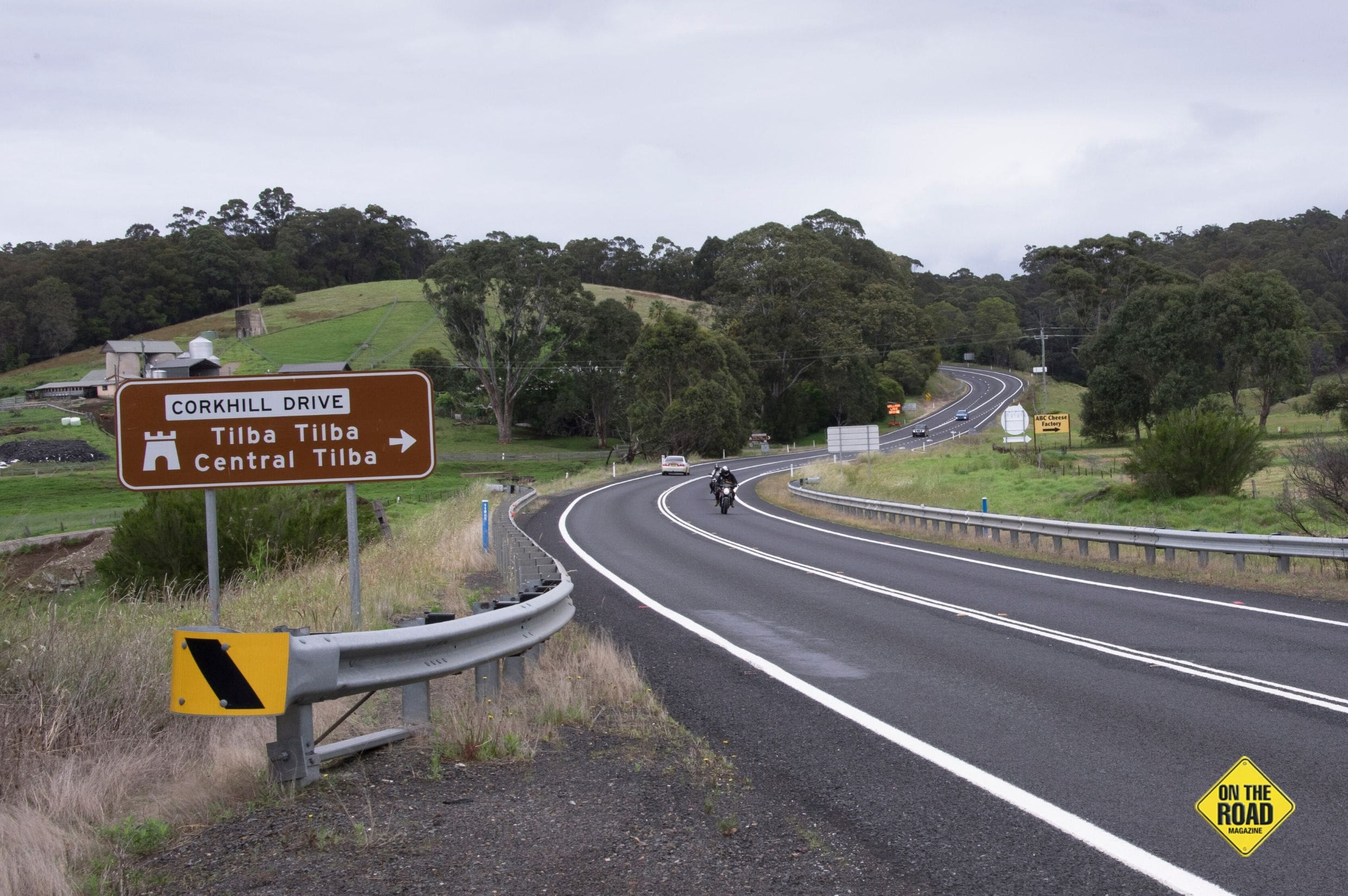 The southern exit from the Princes Highway onto the loop road that takes you to Tilba Tilba and Central Tilba. Corkhill Drive is named after William Corkhill, a famous local photographer who photographed the early