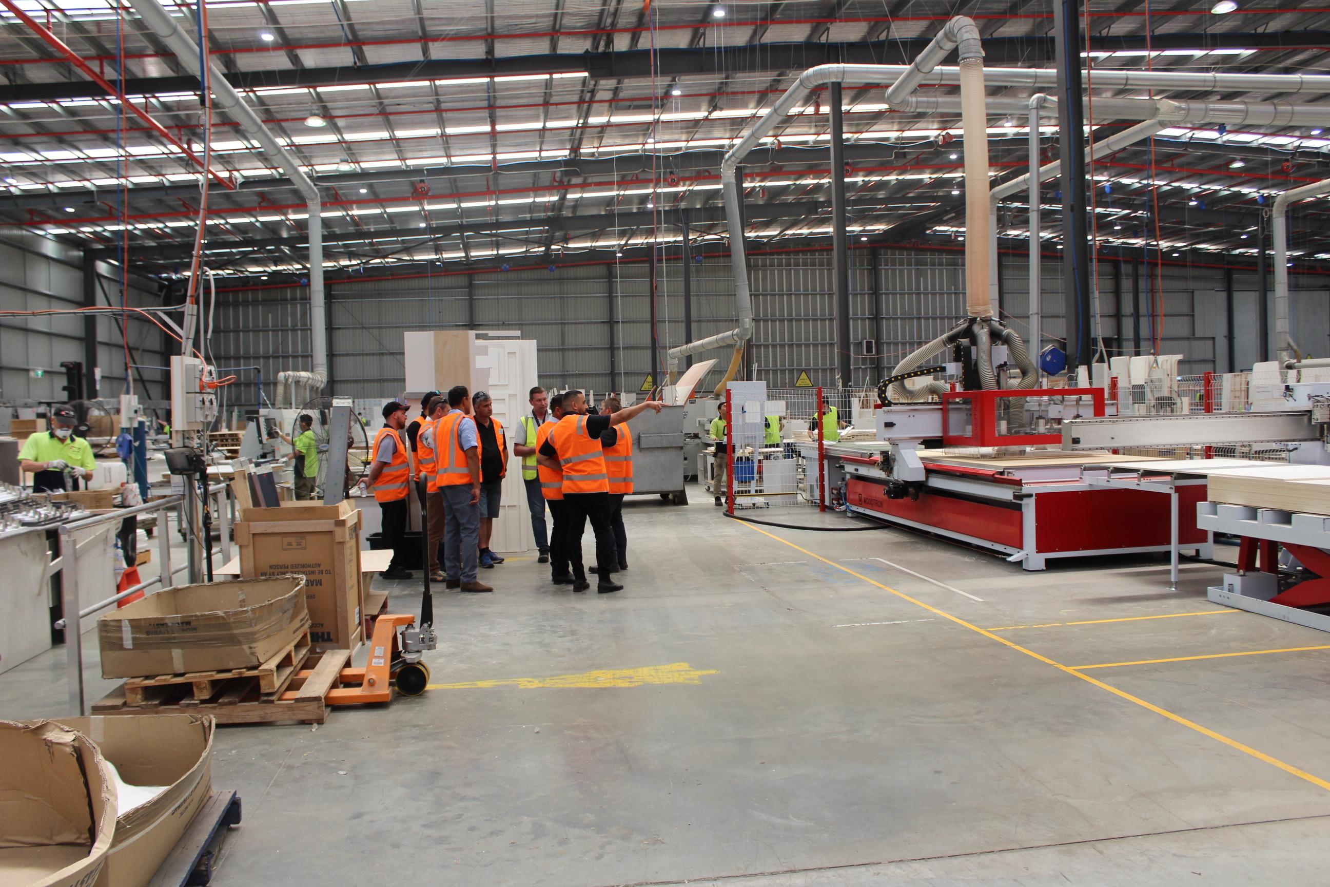 New Age Caravans Australia staff