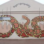 Painting the Wellington Dam Wall Mega Mural & the Collie Mural Trail